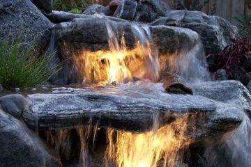 Kerti tó, csobogók építése  Szolgáltatások kerti csobogo vizeses
