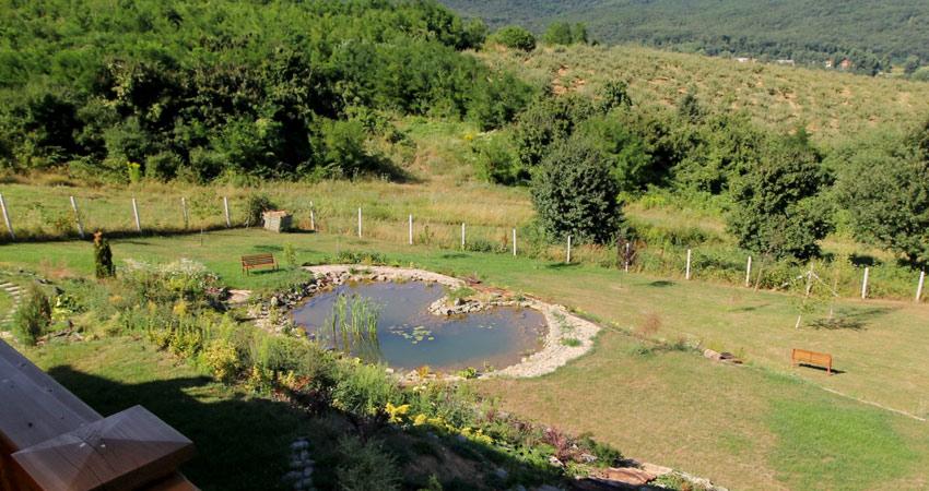Kerti tó, csobogók építése kerti to epites