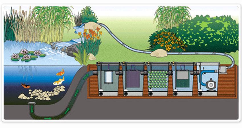 Kerti tó, csobogók építése kerti to tervezes