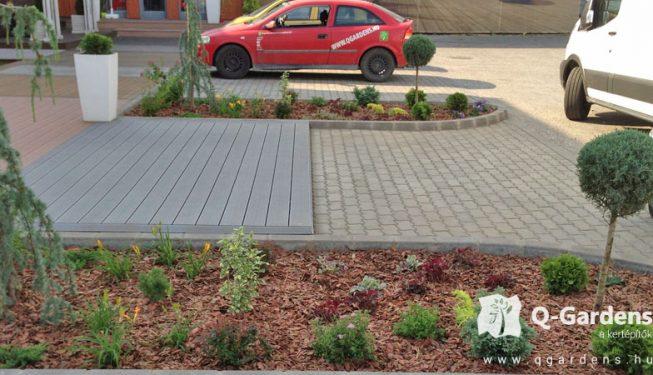 Ipari parkok zöld területeinek kialakítása - kerttervezés